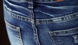 高品質★着痩せ★長パンツ デニムパンツ 大きいサイズ ジーパン ウォッシュ加工 スキニーデニムパンツ27~36/美脚/メンズ/ボトムス