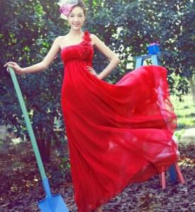 ロングドレス/カラードレス/パーティードレス/結婚式/ウェディングドレス/二次会/演奏会/お花嫁ドレス/刺繍/姫系/演出