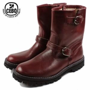 SALE CEBO セボ 26175A-C バーガンディ メンズ ブーツ ブーツ