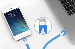 お試し【頑丈なフラット】【レッド限定】iphone5s iphone6s iphone7 plus 充電ケーブル iphone 充電器 ipad mini 4 ケーブル