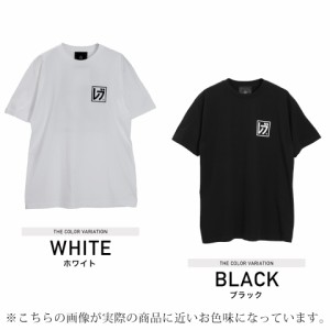 Tシャツ メンズ トップス 半袖 プリント ストリート 原宿系 たけぞー REBTRAIT JIGGYS / カタカナロゴボックスプリントビッグTシャツ