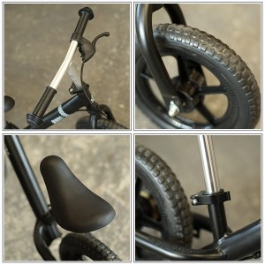 【完全組立配送】キックバイク Wynn 12インチ 6色バリ バランスバイク ストライダー