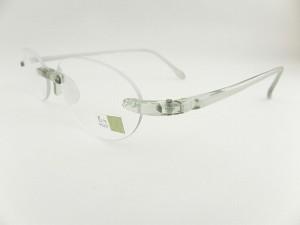 【送料無料 老眼鏡+1.00】 エアリーダー グリーングレー-AR-GRGYO-10 EYEMAGINE アイマジン リーディンググラス 形状記憶樹脂