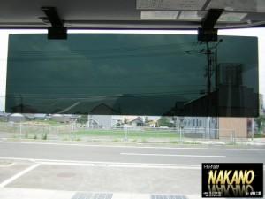 【サンバイザー】日差しをやわらげ快適運転★クリップで挟むだけの取付簡単 アクリル製(4t〜大型用)ブラックスモーク