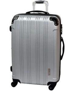 キャリーケース キャリーバッグ スーツケース M(22)サイズ メッシュQueendom FK2100-1 中型 保証付 軽量 送料無料