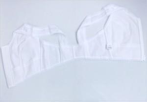 着姿綺麗に フィールドセンサー和装ブラジャー白M・L・LL(フロントファスナー)