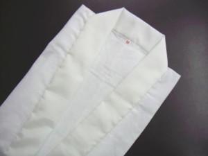 和装着物きものに メンズ男性礼装用洗える半襦袢白M・L・LL(日本製)