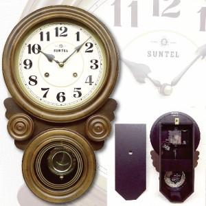 日本製ボンボン時打ちだるま振り子時計