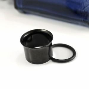 ボディピアス シングルフレアブラックアイレット/11mm ボディーピアス