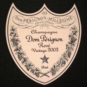 ドン・ペリニヨン ロゼ 750ml 箱付 並行 2003年