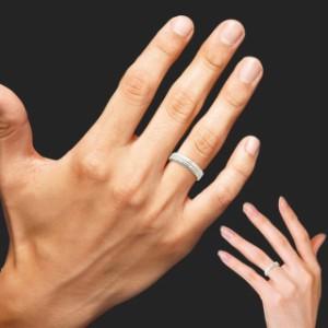 【即納】通常49,900円が【74%OFF】シルバー925 SILVER ペア リング ペアルック 刻印 送料無料 天然ダイヤ 付き ラッピング 無料 sale