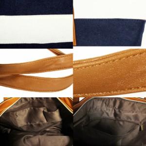送料無料 トートバッグ メンズ ウール メルトン 全3色 ウール メルトン ボーダー トート バッグ バック