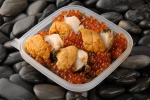 送料無料★海鮮ぶっかけ丼(うに、いくら、あわび)4人前・ためしてガッテンでガゴメ昆布紹介/贈り物/グルメ 食品 ギフト