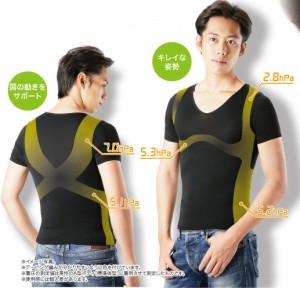 【送料無料】メタマックスパワーシャツ 2枚セット メンズ用 カロリーダウン スポーツウエア ダイエットウェア ダイエットウエア 送料込