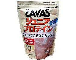 ザバス ジュニア プロテイン ココア味 840g 【小中学生向け/SAVAS/明治】