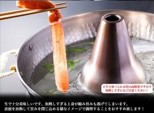 太脚棒肉100%★お刺身で食べられる本ずわい蟹ポーション1kg《※冷凍便》【送料無料/ギフト】かに_カニ
