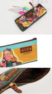 (先払いのみ) 海外グッズ Coca-Cola(コカ・コーラ) PVC 筆箱 ペンケース ポーチ (2種中1種ランダム発送)