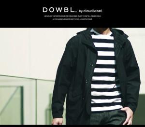 DOWBL/ダブル/【即納】cloud label シルケット天竺ボーダーTee【全1色】【5/26】 /トップス/Tシャツ/BITTER/ビター系