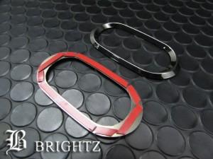 BRIGHTZ マーチ K12 ブラックメッキサイドマーカーリング Cタイプ【SID-RIN-039】