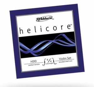 D'Addario/バイオリン弦セット H310 Helicore Violin Strings【メール便OK】