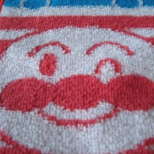 ハンドタオル/プチタオル それいけ!アンパンマン (アンパンマン×バイキンマン) キャラクタータオル 子供用・ジュニア用