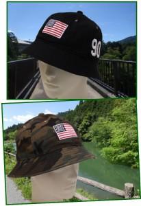【送料無料★1,500円】【CASTANO】カスターノアメリカンフラッグメトロハット (帽子 メンズ レディース)