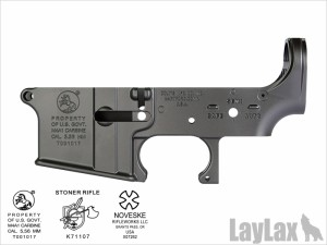 LayLax・次世代電動ガンM4用MGロアフレーム 【cus-142】