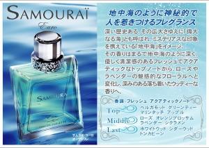 アランドロン サムライ ユーロ EDT SP 100ml 【香水】【メンズ】