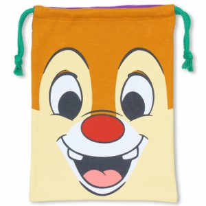 NEW♪ディズニー フェイスキンチャク(Mサイズ)-巾着袋 キッズ ベビー レディース ベビードール 子供服 /DISNEY-7413