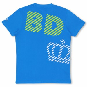 週末限定SALE60%OFF 親子ペア ボーダーMIX斜めロゴTシャツ-大人 レディース メンズ 子供服-7970A【XL通販限定】