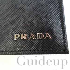 【送料無料】【PRADA】プラダ カードケース 2M0945 SAFFIANO BICOLO BALTICO+NERO(ネイビー×ブラック) メンズ【1点限り】