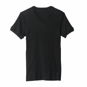 ★送料込み★グンゼ【BODYWILD】VネックTシャツ3枚セット 綿100% BWB415K 【即納/送料無料】