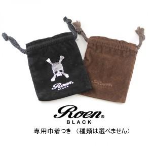 メンズアクセサリー スカル クリップ式タイバー ブランド Roen BLACK ロエン ブラック