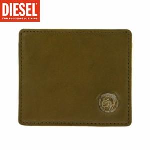 ディーゼル カードケース X03377-P0877/H5925 カーキ パスケース 定期入れ メンズ DIESEL/x03377-p0877-h5925/import