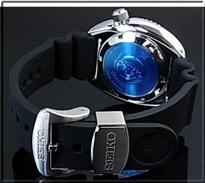 SEIKO/セイコー【PROSPEX/プロスペックス200m防水ダイバーズ】自動巻 腕時計 ネイビー/レッドベゼル ラバーベルト 海外モデル SRP779K1
