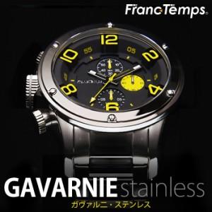 腕時計 メンズ Franc Temps フランテンプス ガヴァルニクロノステンレス Gavarnie Stainless