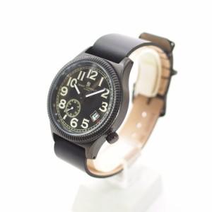 【送料無料】SMART TURNOUT スマートターンアウト  STJ007BKBK-RAF20  メンズ ウォッチ 腕時計 ブラック クオーツ 替えベルト付き