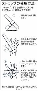 レザー リストストラップ(2本組) 1セット 【Kentai(ケンタイ)/健康体力研究所】