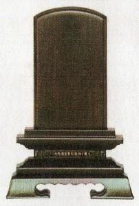 位牌: 黒檀・ 巾広春日(黒檀のみ) (3.5寸〜6.0寸)