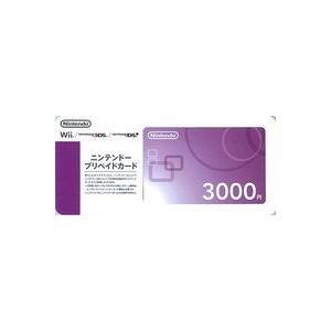 【代引きのみ・ネコポス不可】ニンテンドープリペイドカード3000円 150316