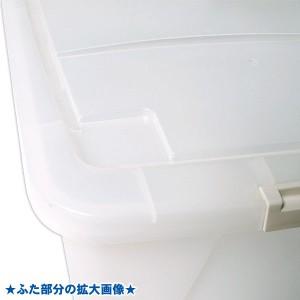 押入れ収納 衣装ケース [4個セット フタ式衣装ケース(コロつき)衣類収納] 送料無料