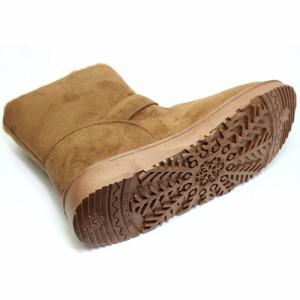 [送料無料]メンズ ムートンブーツ 靴 シューズ ファー ムートン ショートブーツ ルミニーオ ブーツ シークレット インヒール付 42315
