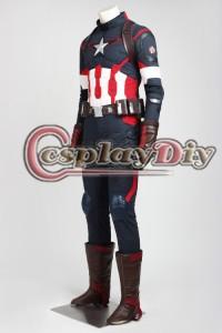 高品質 高級コスプレ衣装 キャプテンアメリカ 風 オーダーメイド ボディースーツ Age of Ultron Captain America