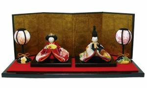 送料無料「雛人形(彩り友禅雛 1-621)置物 おひなさま 雛祭り ひなまつり」 sa ryu 4697762
