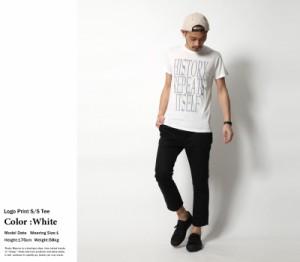 【SALE】半袖Tシャツ メンズ 英字 プリント ロゴ アメカジ ロゴT プリントT プリントTシャツ novel; 6653-104 5856【pre_d】