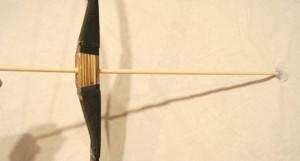 竹製手作り 弓矢セット大 120cmタイプ 【懐かしの玩具】