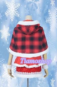 ラブライブ! School idol project  LoveLive!   SRカード クリスマス X'mas  サンタ  西木野真姫  風 コスプレ衣装  *K4035