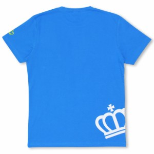 アウトレットSALE50%OFF 親子ペア 斜め王冠Tシャツ-大人 レディース メンズ ベビードール 子供服-7943A【XL通販限定】