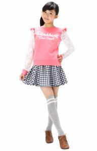 SALE60%OFF アウトレット PINKHUNT ギンガムチェックキュロットスカート キッズ ジュニア ベビードール BABYDOLL-6916K