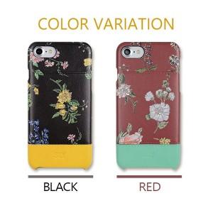iPhone8/7 SLY(スライ) 「ナイトフラワー (2color)」 花柄 ケース ブランド